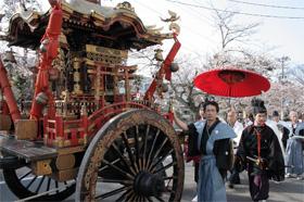 加賀神明宮(山下神社)櫻花祭