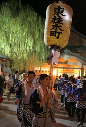 山中溫泉 來來祭典(KoiKoi祭典)