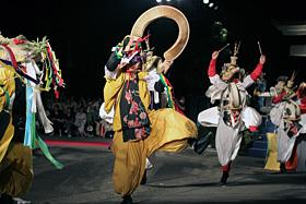 Yamashiro Onsen Yamashiro Daidengaku (Yamashiro Performing arts festival)